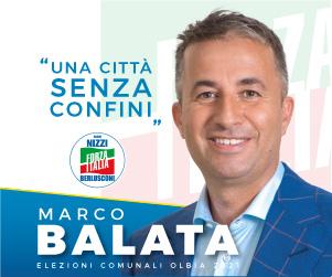 Balata elezioni comunali Olbia 2021